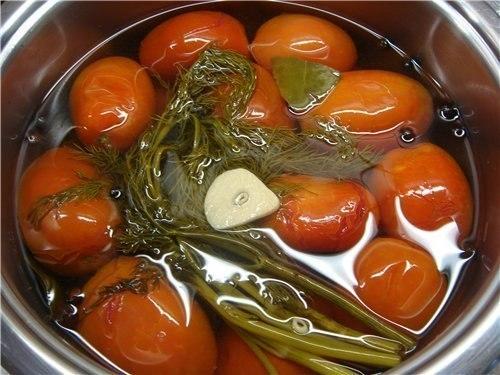 Малосольные помидоры рецепт быстрого приготовления с уксусом