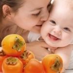 Можно ли кормящей маме кушать хурму