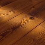 Деревянный пол в загородном доме