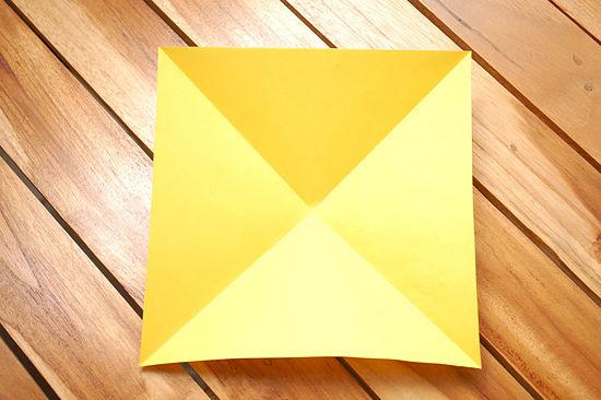 Квадрат с диагоналями