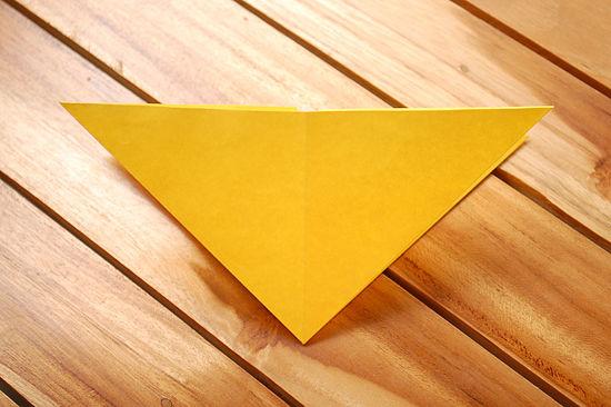 Разворачиваем треугольник